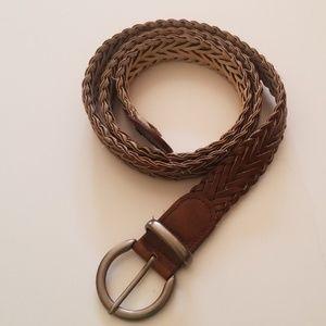 Other - Patterned soft brown belt